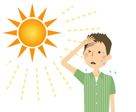 Les jeunes susceptibles de devenir un coup de chaleur