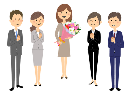 Business-Team, Leute im Anzug