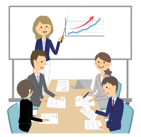 Internal meeting, presentation