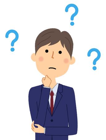 Homme d'affaires, Question