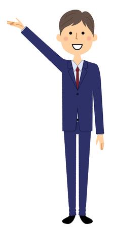 Businessman, Description