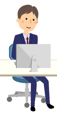 Businessman, PC Illustration