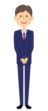 Businessman, Greeting