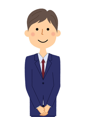 Businessman, Greeting