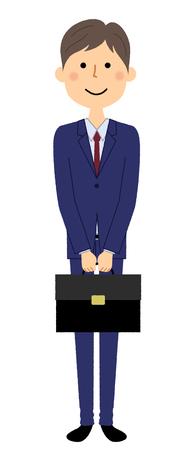 Businessman, Bag