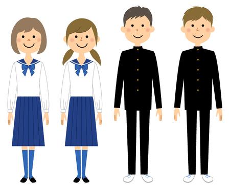 Uniform, Student, Junior high school student