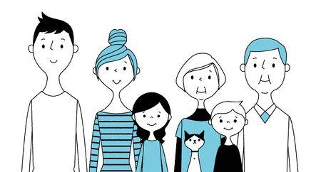Good family Illustration