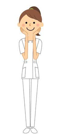 Nurse, Be shy