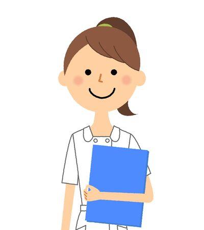 Krankenschwester, Akten haben