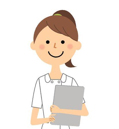 Krankenschwester, Krankenblatt