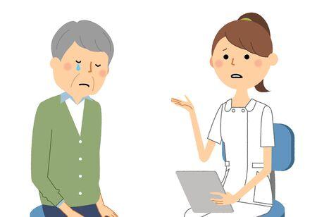 Nurses, Consultation Banque d'images - 129340003