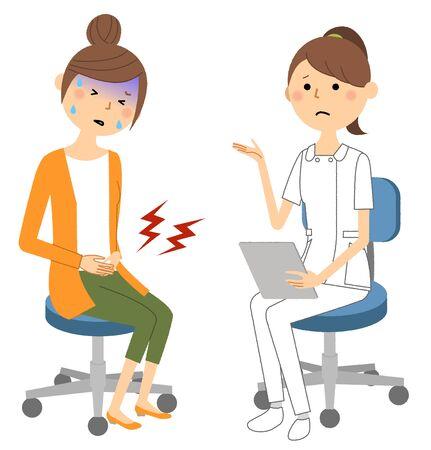 Nurses, Consultation Banque d'images - 129340226