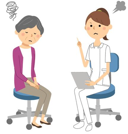 Nurses, Consultation Illustration