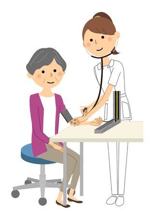 Nurses and the elderly, Blood pressure measurement
