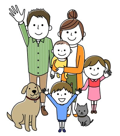 Good family Illustration
