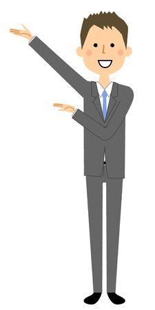 Uomo d'affari, descrizione