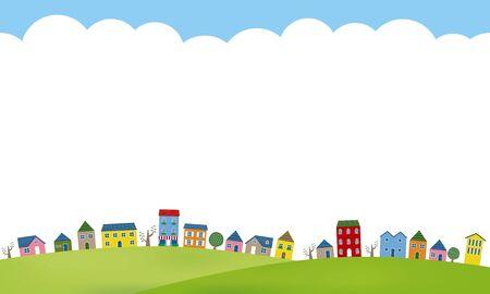 Paesaggio della città