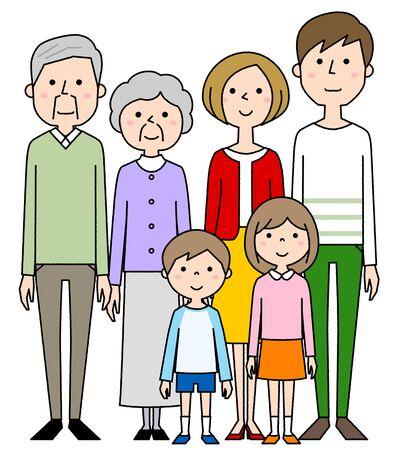 Happy family Foto de archivo - 133995552