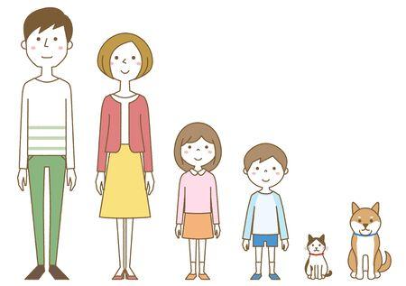 Happy family Foto de archivo - 133995580