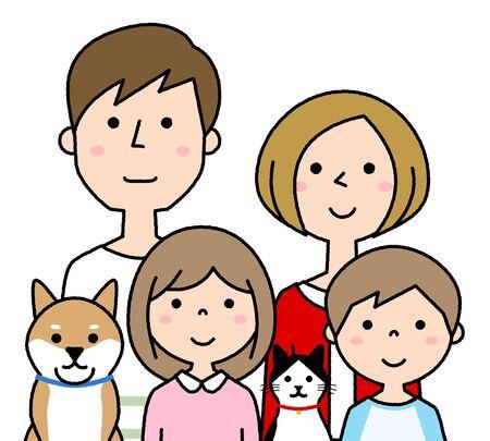 Happy family Foto de archivo - 133995691
