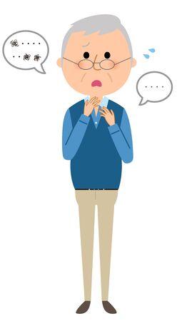 Elderly Man, Language Disorder