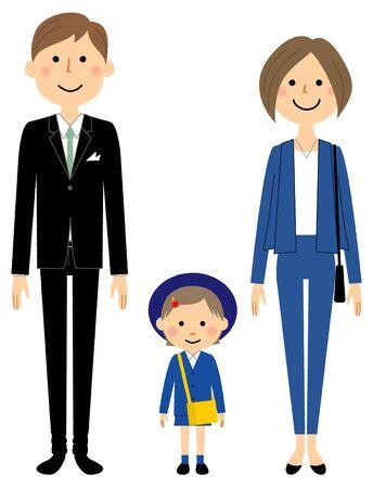 Rodzina, ceremonia wejścia, przedszkole