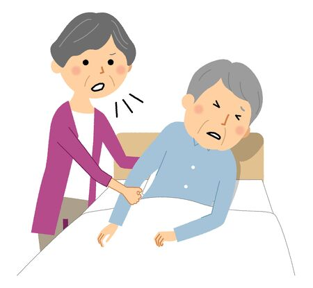 Elderly people get angry at caregivers