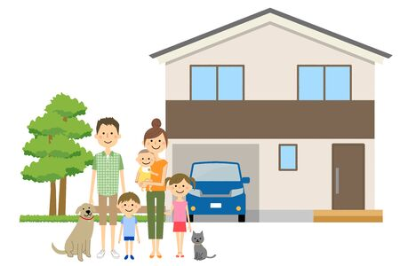 Family and own home