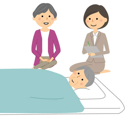 It is an illustration of the nursing care certification survey.