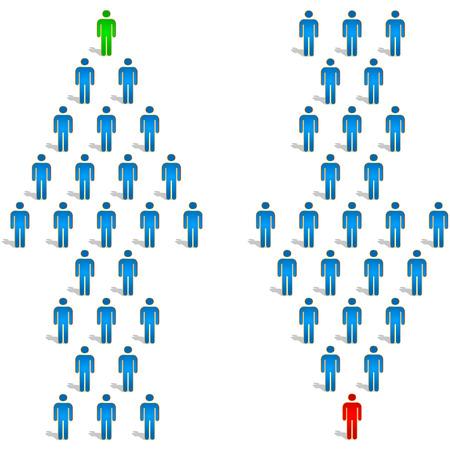 Business-Konzept. Vektor-Illustration.