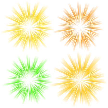 flash light: Sunburst abstract vector.   Illustration