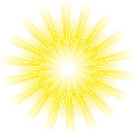 Sunburst abstract vector. Stock Vector - 6083893
