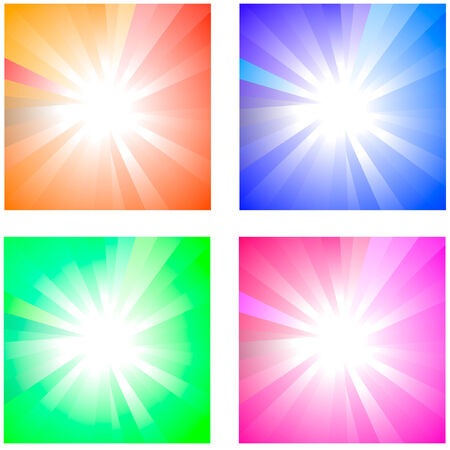 Sunburst abstract vector. Stock Vector - 6084357