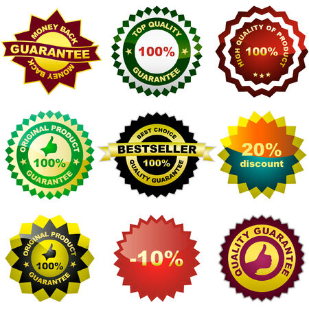Set of design elements for sale. Great collection. Stock Vector - 6084311