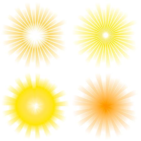 light burst: Sunburst abstrakte Vektor.