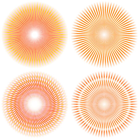 Sunburst abstract vector. Stock Vector - 6084430