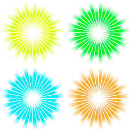 Sunburst abstract vector. Stock Vector - 6084320