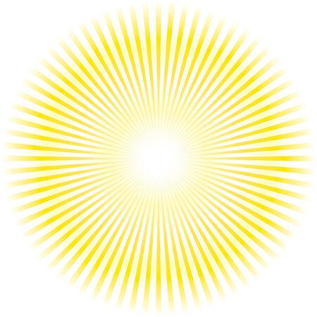 Sunburst vector. Stock Vector - 6085250