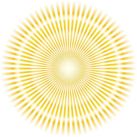 Sunburst abstract vector. Stock Vector - 6084894
