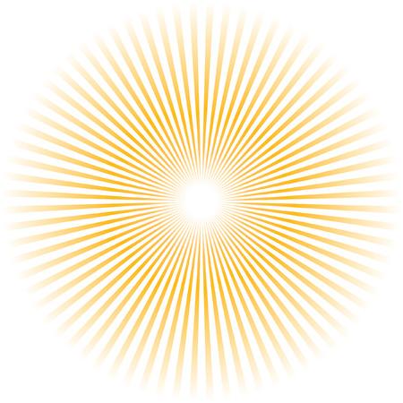 Sunburst abstract vector. Stock Vector - 6085186
