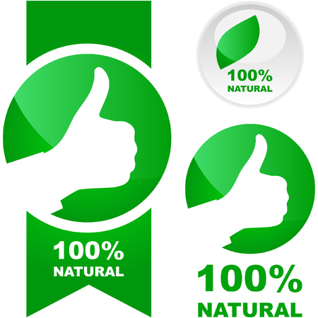 Set of natural labels.   Vector