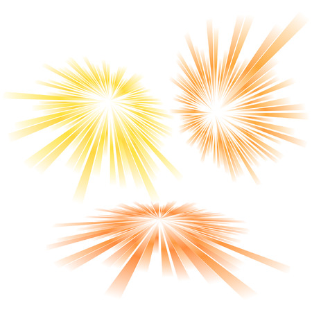 Sunburst abstract vector.   Stock Vector - 6085123