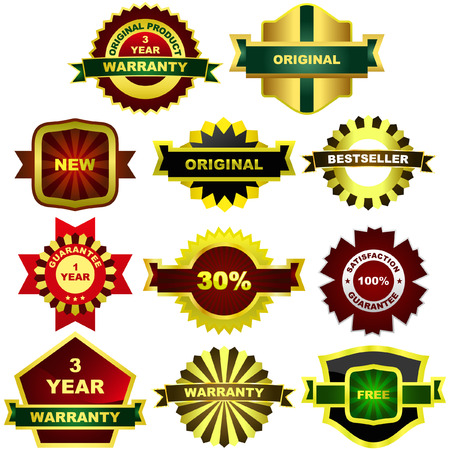 Set of sale labels. Vector great collection.     Stock Vector - 6085259