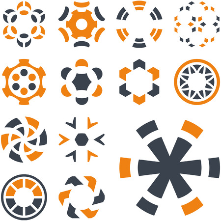 Graphic elements set. Vector illustration.   Vector