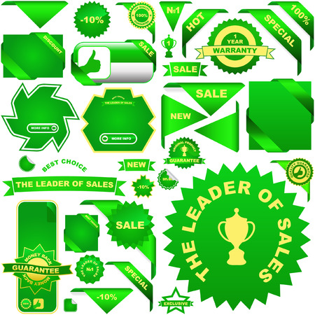Set of design elements for sale. Stock Vector - 6085338