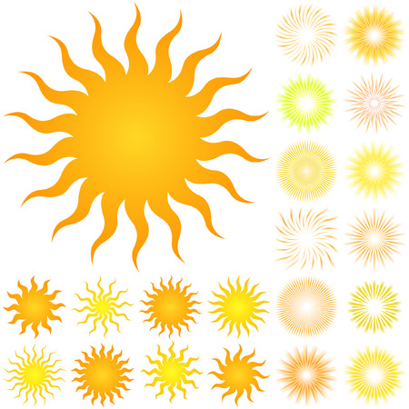 Sunburst abstract vector. Great collection.   Stock Vector - 6085403