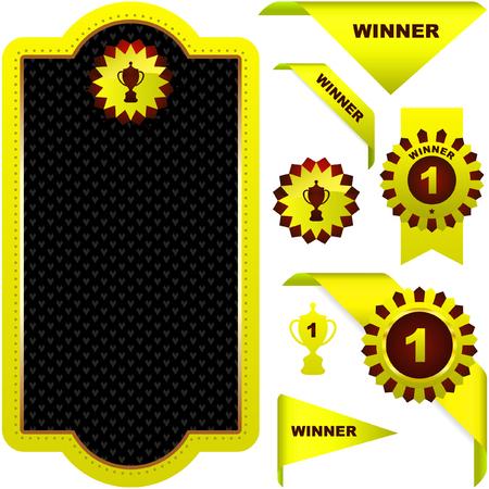 Vector award set Stock Vector - 6085244