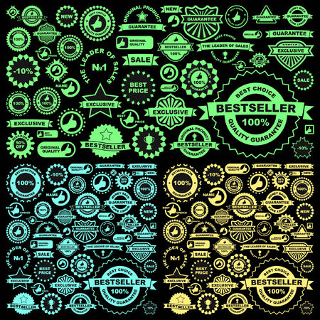 Set of design elements for sale. Great collection.   Vector
