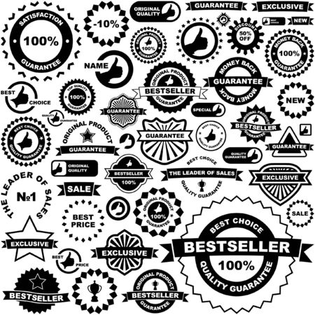 Vector signs for sale. Great collection. Stock Vector - 6085362