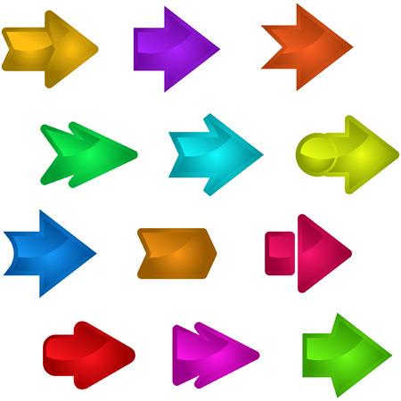 directiva: Un conjunto de vectores de flechas �tiles.